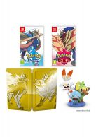 Pokemon Sword and Shield Dual Edition Inc Steelbook and Figu... on Nintendo Switch