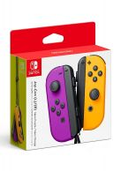Joy-Con Controller Pair - Neon Purple/Orange... on Nintendo Switch