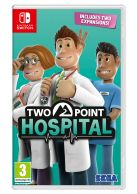 Two Point Hospital... on Nintendo Switch