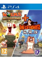 Worms Battleground and Worms W.M.D Two Game Pack... on PS4