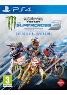 Monster Energy Supercross - The Official Videogame 3 + Pre-O... on PS4