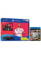 PS4 500GB FIFA 20 Bundle and GTA V Premium Edition... on PS4