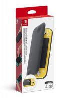 Nintendo Switch Lite Flip Cover and Screen Protector... on Nintendo Switch