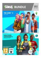 The Sims 4 Full Game and Discover University Bundle... on PC