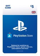 PSN Wallet Top Up - £5.00... on PS4