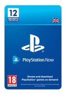 PlayStation Now 12 Month Subscription... on PS4