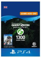 Ghost Recon Breakpoint 1200 Ghost Coins + 100 Coins... on PS4