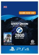 Ghost Recon Breakpoint 2800 Ghost Coins... on PS4