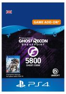 Ghost Recon Breakpoint 5800 Ghost Coins... on PS4