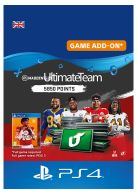 Madden NFL 20: 5850 Madden Ultimate Team Points... on PS4