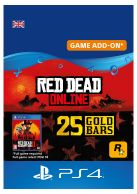 Red Dead Online: 25 Gold Bars... on PS4