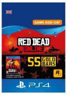 Red Dead Online: 55 Gold Bars... on PS4