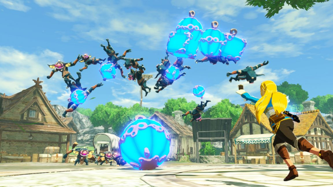 Hyrule Warriors Age Of Calamity On Nintendo Switch Simplygames