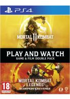 Mortal Kombat 11 Franchise Pack - Game & Film Double Pack... on PS4