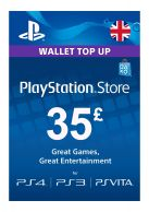 PSN £35 Wallet Top Up Card... on PS4